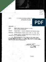 Japanese Submarine and Shipborne Radar Report E-01