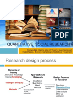Quantitative Social Research
