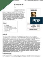 Teoria crítica da sociedade – Wikipédia, a enciclopédia livre