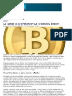 Le Bitcoin devant la justice - leparisien.fr - 26 septembre 2011