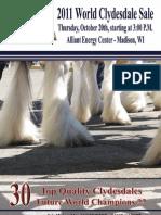2011 WCS Sale Catalog