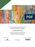 Jaime Silva Convite Exposição Palácio da Ajuda
