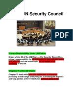 5. the UN Security Council