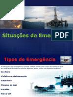 emergência- petróleo