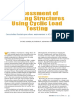 Assessment of Existing Structures Using Cyclic Load Testing
