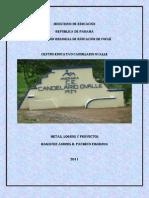 Portafolio de Centro Educativo Candelario Ovalle
