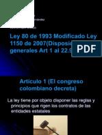 ley 80 de 1993