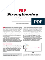 FRP Strengthening-What Designers Need to Know