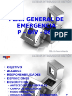Plan General de cia p - Div