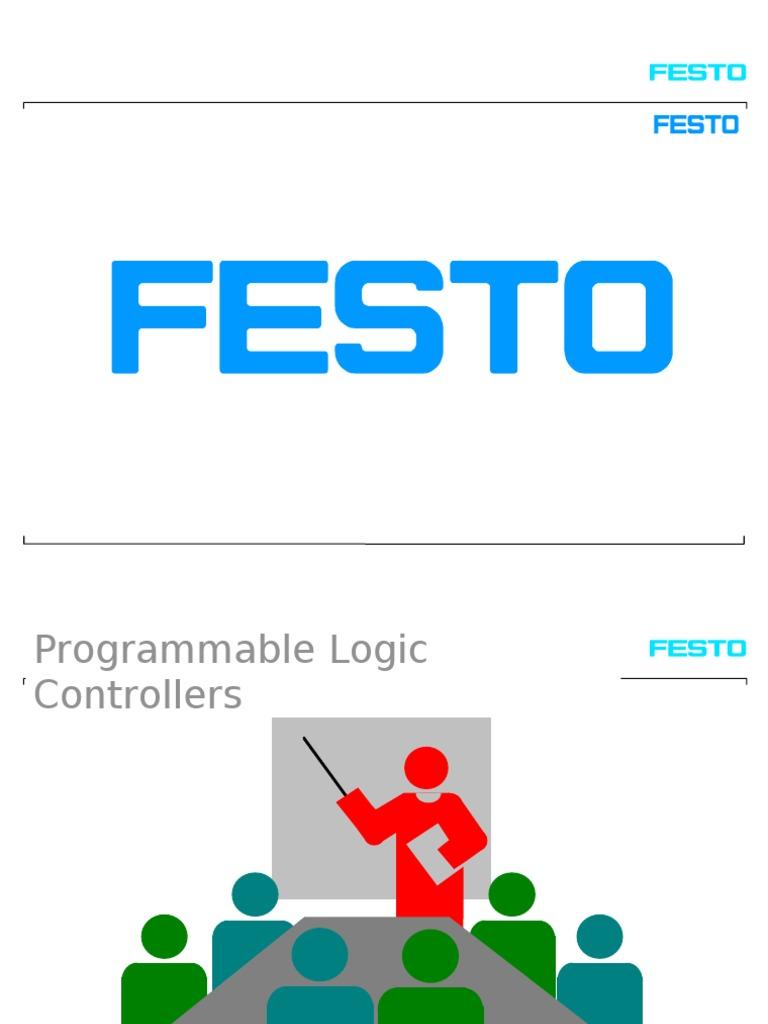 festo basic plc programmable logic controller relay rh scribd com Fan Limit Switch Wiring Diagram Honeywell Limit Switch Wire Diagram