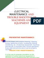Fire Preventive maintenance