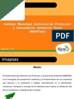 Gestión ambiental en Sucre - IMAPSAS