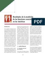 11 - Resultados de la medición de las funciones esenciales en las Américas