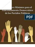 Est and Ares Minimos Para El Funcionamiento Democratico de Los Pp