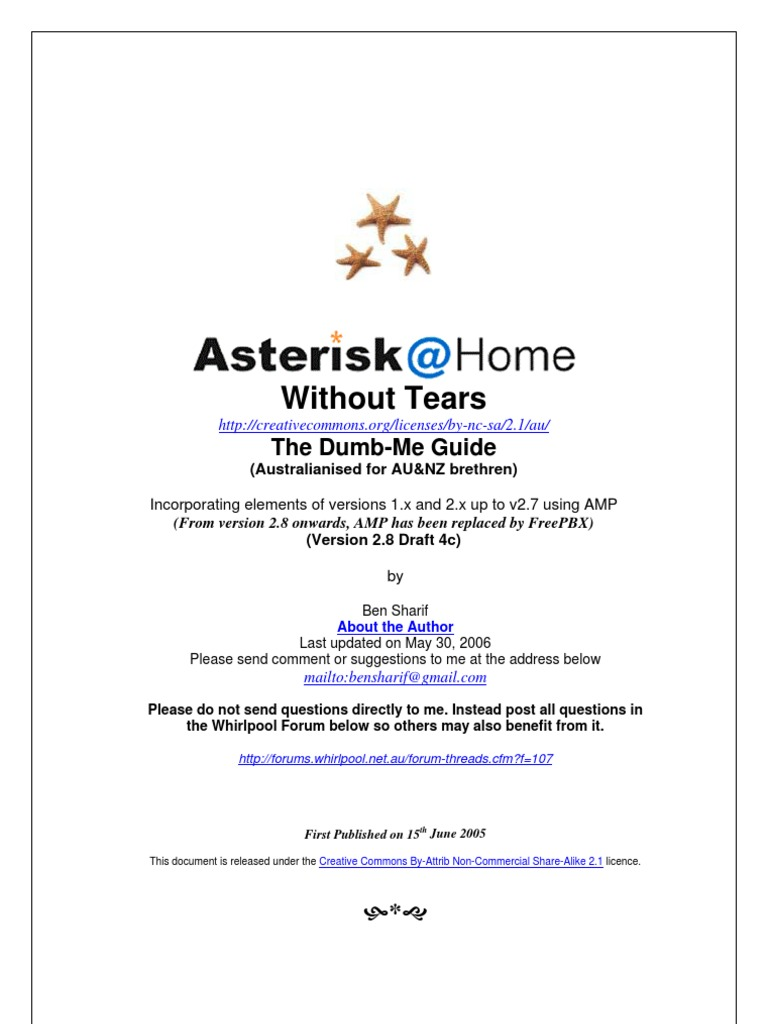 AsteriskForDumbMe | Voice Over Ip | Computer Network