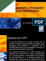 Gestion, Supervisión y Evaluación de Procesos Asistenciales