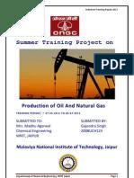 Gajendra Singh(ONGC Training Report)