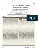 Deficiência de Glicose-6-Fosfato