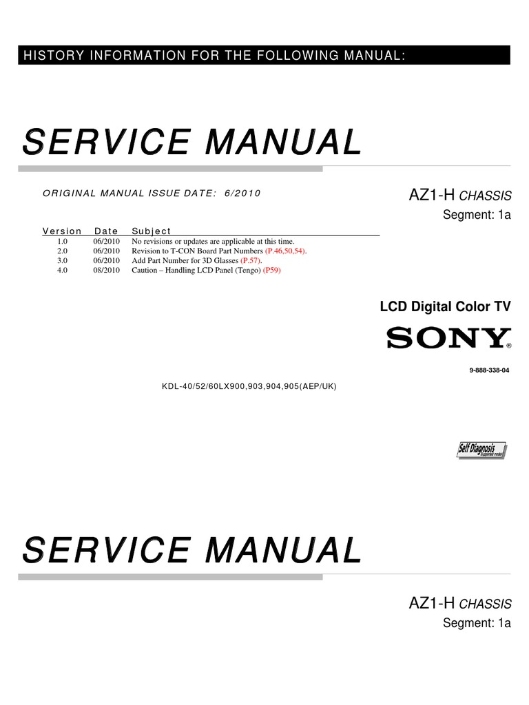 service repair manual for sony kdl 52lx900 rh scribd com sony klv27hr3 lcd tv service manual sony lcd panels service manual