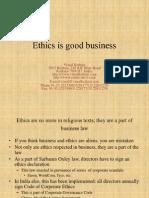 Ethics is Good Business Presentation 3