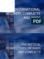 Peace, Security, Conflicts and Wars