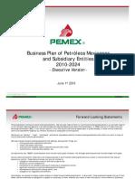Business Plan 2012-2016