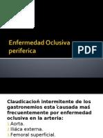 Enf. oclusiva periferica