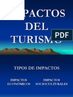 Impactos Del Turismo 2007
