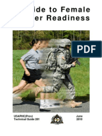 Guide to Female Soldier Readiness