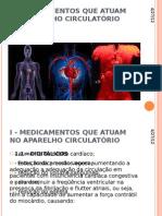 I - MEDICAMENTOS QUE ATUAM NO APARELHO CIRCULATÓRIO