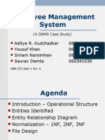 Employee Management System SRS(1) | C Sharp (Programming Language