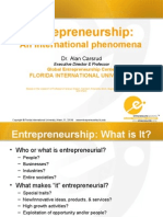 Entrepreneurship-MIB