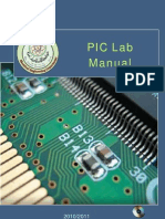 PIC Lab Manual