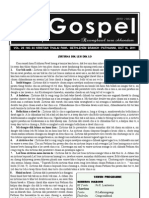 Gospel 16 October