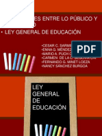 Ley General de Educacion1290