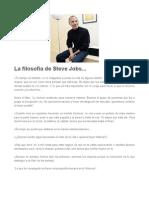 El pensamiento de Steve Jobs