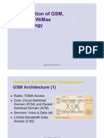 GSM,UMTS,WiMax Tech Intro