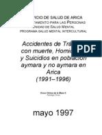 Accidentes de Transito Homicidios y Suicidios...