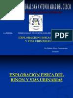 04 Exploración física del riñón y vías urinarias