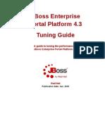 JBoss Enterprise Portal Platform 4.3 Tuning Guide en US