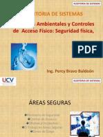 Controles ambientales  y  controles  de  acceso fisico  - seguridad física