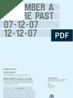 RAFP PRESSRELEASE 4-12-07