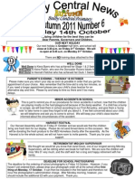Newsletter Autumn 6 2011