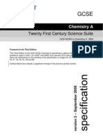 Chemistry Spec