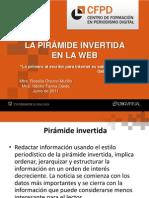 La Piramide Invertida en La Web
