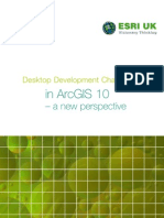 Development Changes in ArcGIS 10