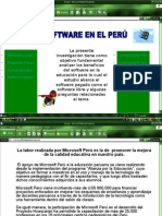software libre en peru