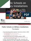 Public Schools on Military Installations