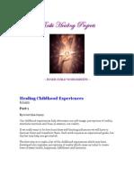 Inner Child Worksheets