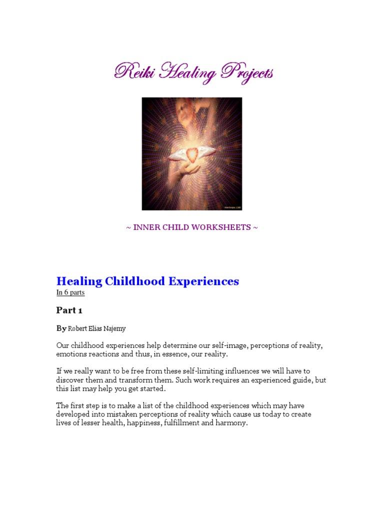 WWS1thru46 Wellness Worksheets Web Search Engine – Inner Child Worksheets